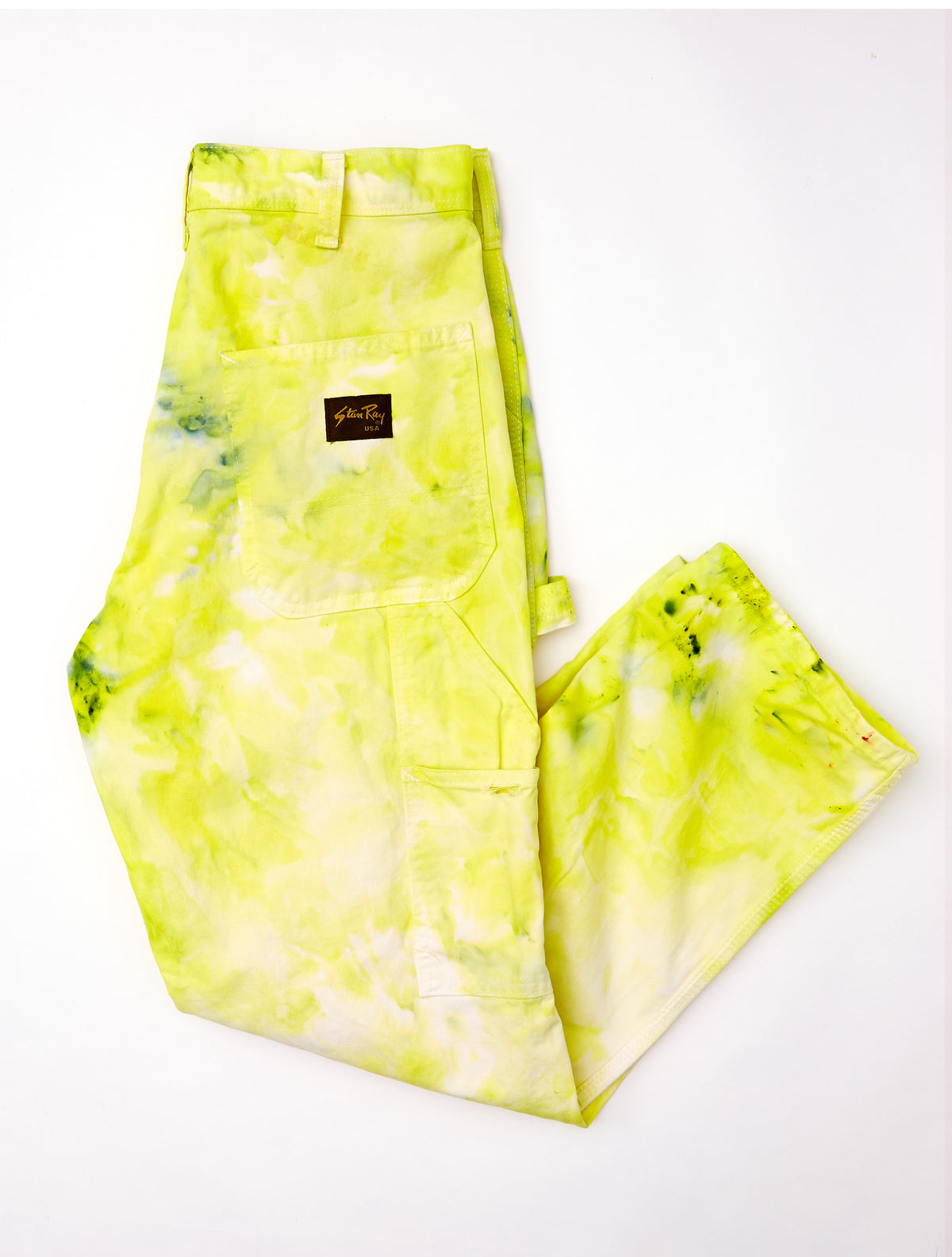 Painter's Pants in Wasabi - riverside tool & dye