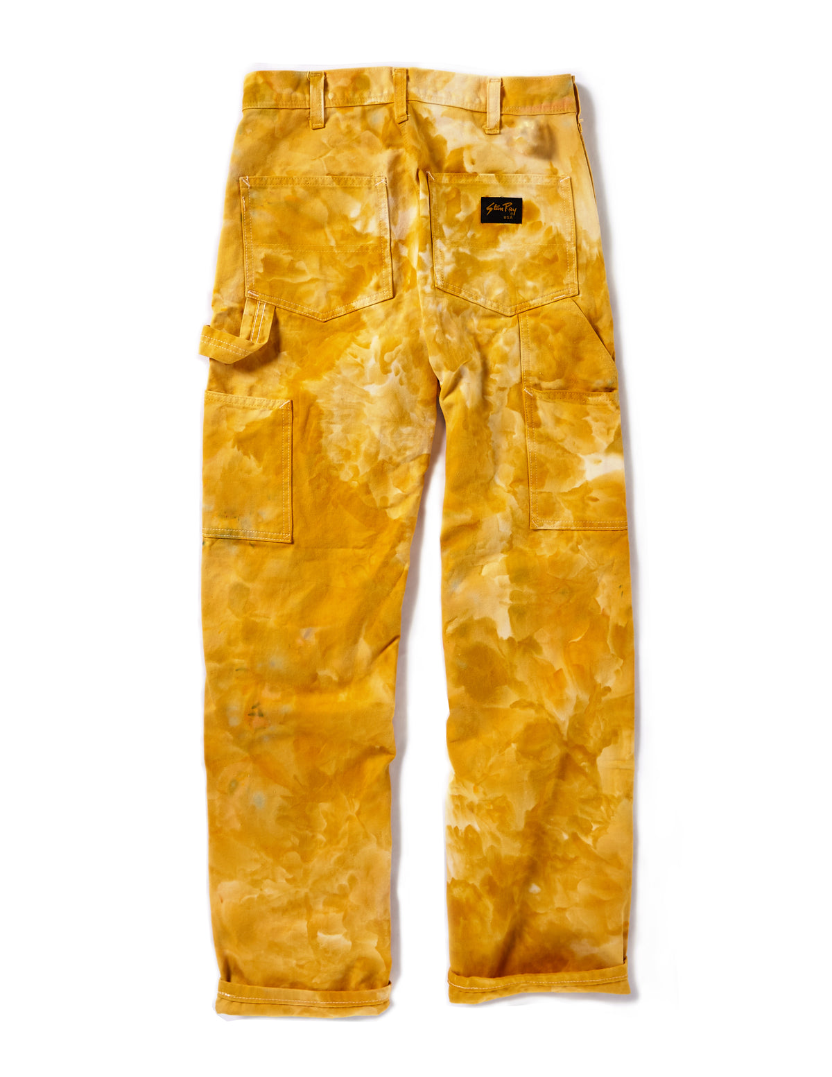Painter's Pants in Mustard - riverside tool & dye