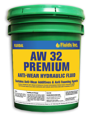 Premium Anti-Wear Hydraulic Oil AW 32
