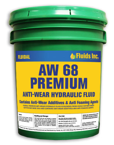 Premium Anti-Wear Hydraulic Oil AW 68