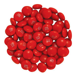 My M&M'S Red 10.00Lb Case