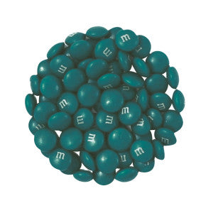 My M&M'S Teal Green 10.00Lb Case