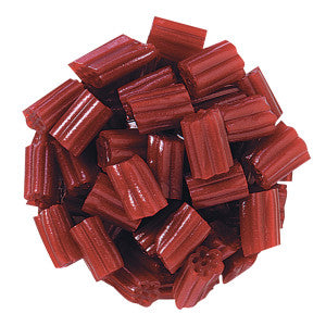 Cherry Licorice Bites 12.50Lb Box