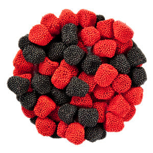 Jelly Belly Raspberries And Blackberries 10.00Lb Case