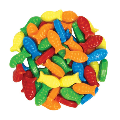 GUPPIES - ASSORTED - DEXTROSE FISH 10LBS 3/CS