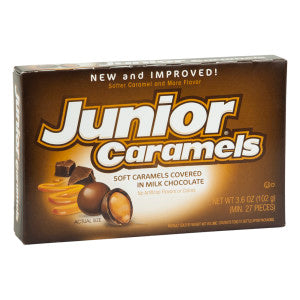 Junior Caramels 3.6 Oz Theater Box 12Ct Case