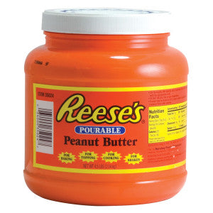 Reese'S Pourable Peanut Butter Tub 4.50Lb Can