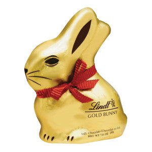 Lindt Milk Chocolate Gold Foiled Bunny 7 Oz 12Ct Case