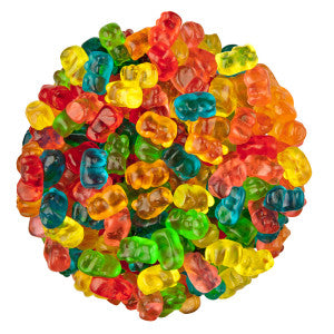 Clever Candy Mini Gummy Bears 6.60Lb Bag