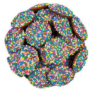 Nassau Candy Milk Chocolate Spring Nonpareils 6.00Lb Case