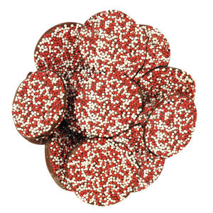 Nassau Candy Milk Chocolate Valentine'S Day Nonpareils 6.00Lb Case