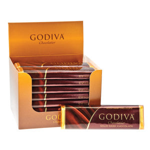 Godiva Dark Chocolate 1.5 Oz Bar 24Ct Box