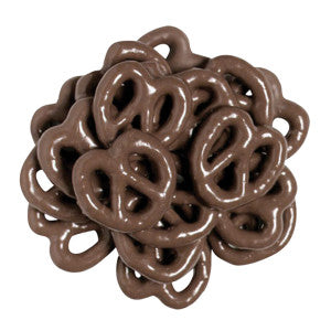 Nassau Candy Dark Chocolatey Coated Mini Pretzels 15.00Lb Case
