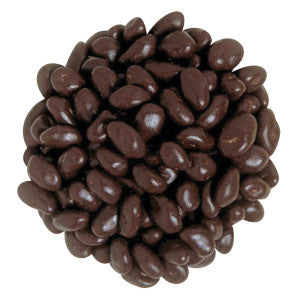 Nassau Candy Maltitol Dark Chocolate Raisins 10.00Lb Case