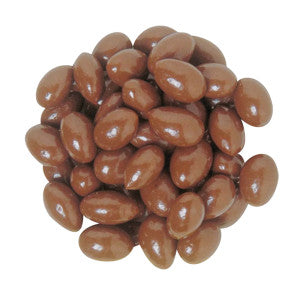 Nassau Candy Maltitol Milk Chocolate Almonds 10.00Lb Case