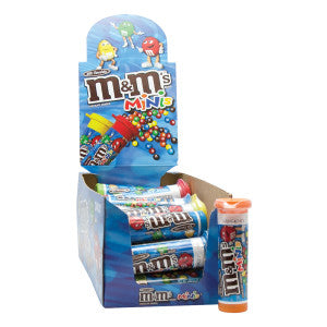 M&M'S Mini Milk Chocolate M&M'S 1.08 Oz Tube 24Ct Box