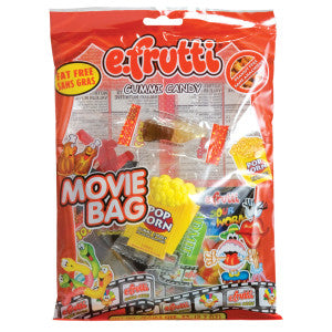 Efrutti Gummy Movie Bag 2.7 Oz 12Ct Case