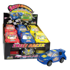 Sweet Racer Filled With Candy 0.42 Oz 12Ct Box