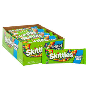 Skittles Sours Share Size 3.3 Oz 24Ct Box