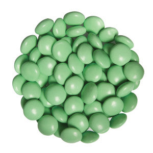 Light Green Chocolate Color Drops 15.00Lb Case