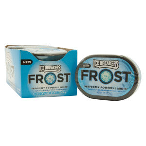 Ice Breakers Frost Peppermint Mints 1.2 Oz 6Ct Box