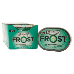 Ice Breakers Frost Wintercool Mints 1.2 Oz 6Ct Box