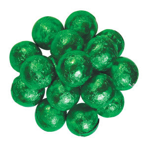 Green Foiled Milk Chocolate Marble 10.00Lb Case