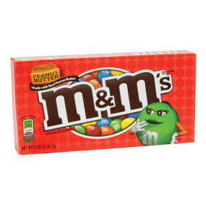 M&M'S Peanut Butter 3 Oz Theater Box 12Ct Case