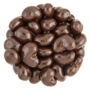 Nassau Candy Dark Chocolate Cashews 10.00Lb Case