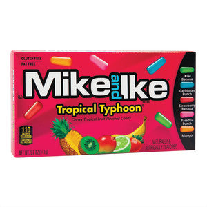 Mike And Ike Tropical Typhoon 5 Oz Theater Box 12Ct Case