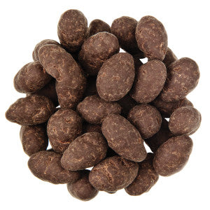Nassau Candy Dark Chocolate Sea Salt Bare Almonds 10.00Lb Case