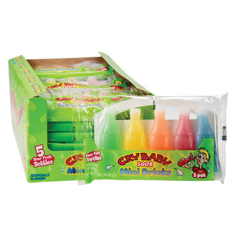 CRY BABY SOUR MINI DRINKS 5 PACK