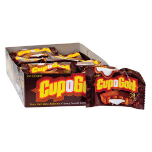 Cup O Gold Milk Chocolate 1.25 Oz 24Ct Box
