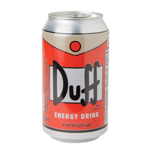Duff Energy Drink 12 Oz Can 24Ct Case