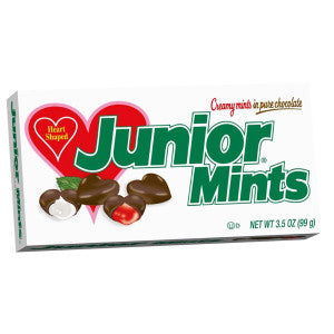 Junior Mints Valentine Hearts 3.5 Oz Theater Box 12Ct Case