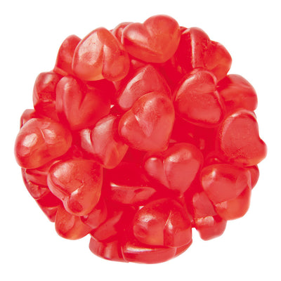 GUMMY CHERRY HEARTS