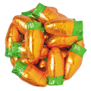 Chocolate Flavored Foiled Mini Carrots 12.00Lb Box