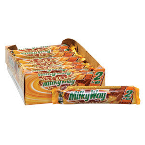 Milky Way Simply Caramel 2.84 Oz King Size Bar 24Ct Box