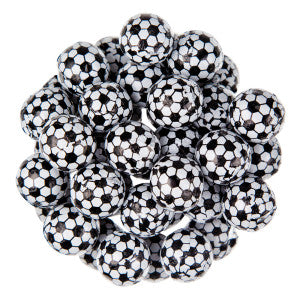 Thompson Milk Chocolate Foiled Soccer Balls 10.00Lb Case