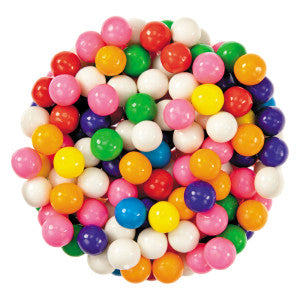 Assorted Gumballs 8500 Ct 21.80Lb Case