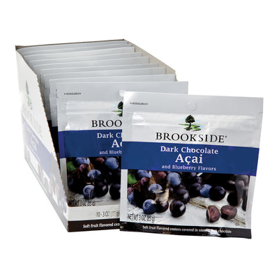 BROOKSIDE - DARK CHOCOLATE - ACAI BLUEBERRY - 3OZ