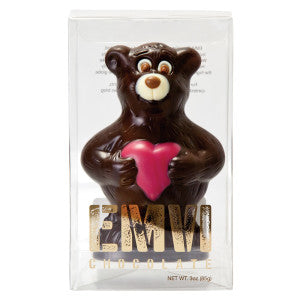 Emvi Dark Chocolate Love Bear 3 Oz Box 9Ct Case