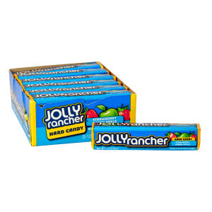 Jolly Rancher Strawberry And Green Apple 1.2 Oz Bar 12Ct Box