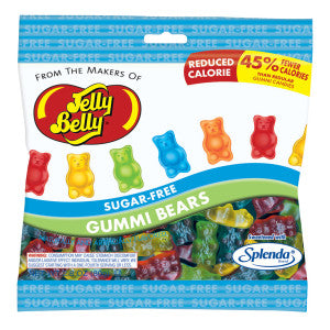 Jelly Belly Sugar Free Gummi Bears 2.8 Oz Bag 12Ct Case