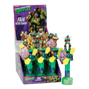 Teenage Mutant Ninja Turtles Candy Fan 0.35 Oz 12Ct Box