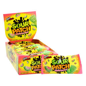 Sour Patch Green Rind Watermelon 2 Oz 24Ct Box