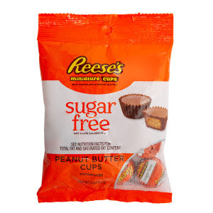 Reese'S Sugar Free Peg Bag 3 Oz *Sf Dc Only* 12Ct Case