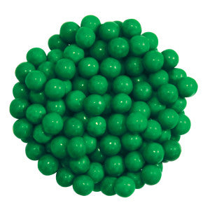 Sixlets Dark Green 12.00Lb Case