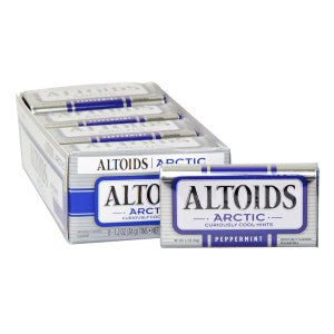 Altoids Arctic Peppermint Mints 1.2 Oz Tin 8Ct Box