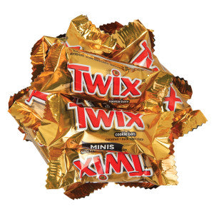 Twix Mini Bars 20.00Lb Case